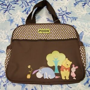 Winnie the pooh and friends diaper bag